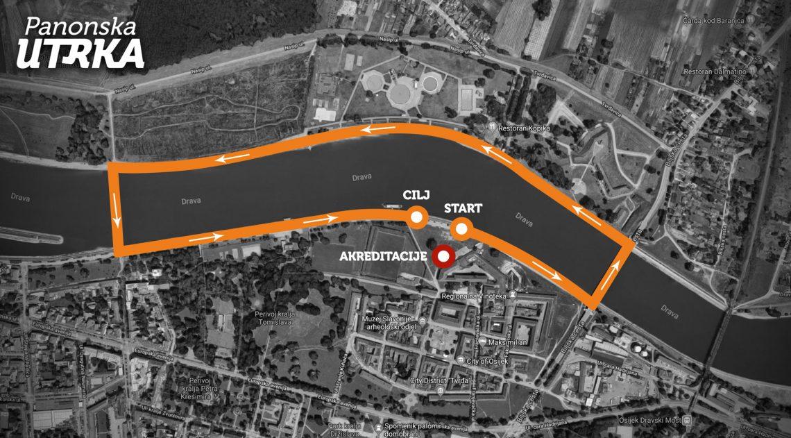 Karta Panonske utrke